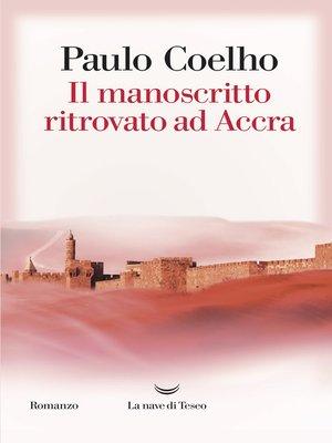 cover image of Il manoscritto ritrovato ad Accra