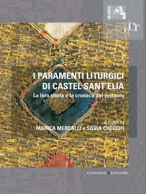 cover image of I paramenti liturgici di Castel Sant'Elia