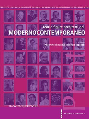 cover image of Teorie figure architetti del Modernocontemporaneo