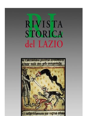 cover image of Rivista Storica del Lazio n. 16/2002