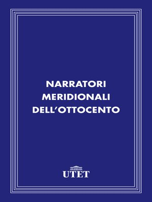 cover image of Narratori meridionali dell'Ottocento