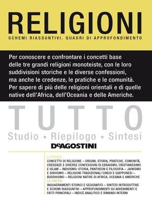 cover image of TUTTO--Religioni