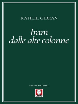 cover image of Iram dalle alte colonne