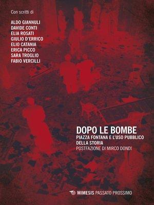 cover image of Dopo le bombe