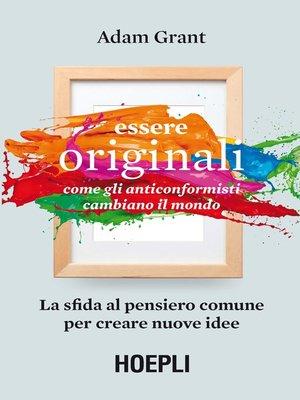 cover image of Essere originali