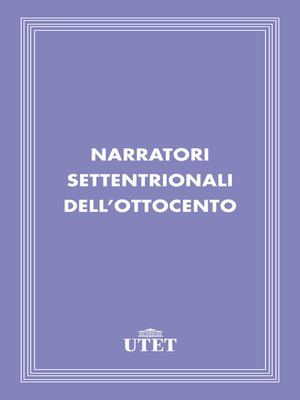 cover image of Narratori settentrionali dell'Ottocento