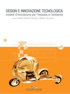 cover image of Design e innovazione tecnologica