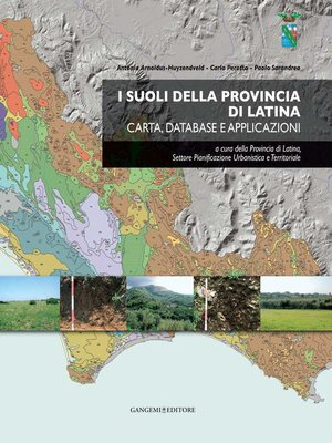 cover image of I suoli della provincia di Latina
