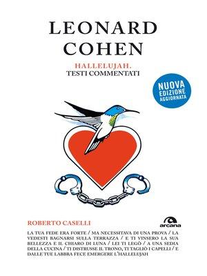 cover image of Leonard Cohen. Hallelujah