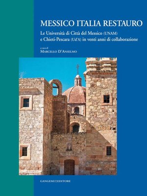 cover image of Messico Italia restauro