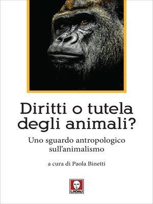 cover image of Diritti o tutela degli animali?