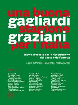 cover image of Una buona stagione per l'Italia