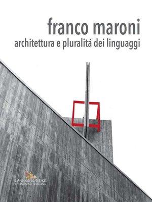 cover image of Franco Maroni