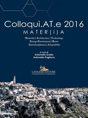 cover image of Colloqui.AT.e 2016