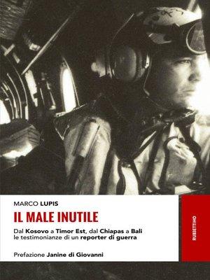 cover image of Il male inutile