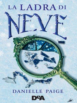 cover image of La ladra di neve