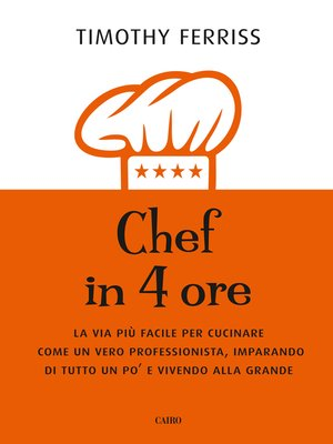 cover image of Chef in 4 ore