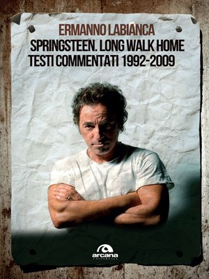 cover image of Springsteen. Long walk home