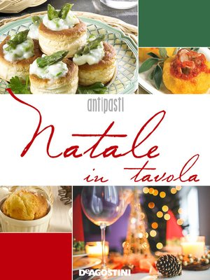 cover image of Natale in tavola. Antipasti