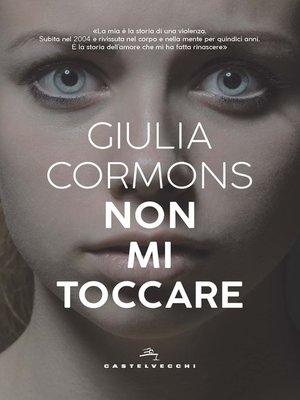 cover image of Non mi toccare
