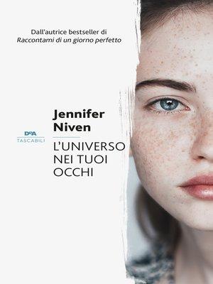 cover image of L'universo nei tuoi occhi