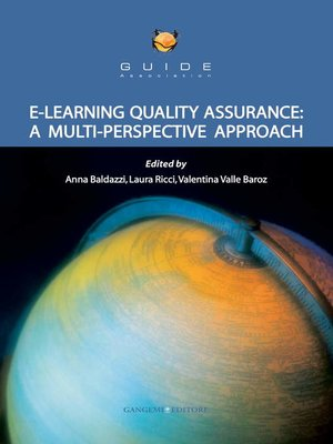 cover image of E-learning quality assurance