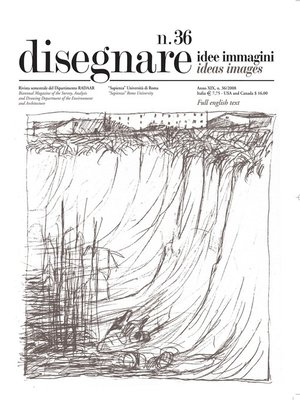 cover image of Disegnare idee immagini n° 36 / 2008