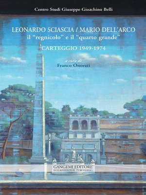 cover image of Leonardo Sciascia / Mario Dell'Arco