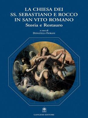 cover image of La chiesa dei SS. Sebastiano e Rocco in San Vito Romano