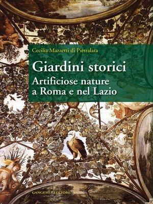 cover image of Giardini storici