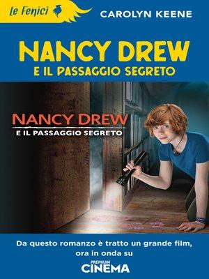 cover image of Nancy Drew e il passaggio segreto
