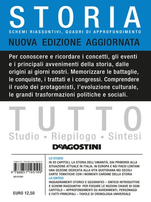 cover image of TUTTO--Storia