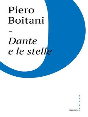 cover image of Dante e le stelle