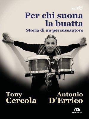 cover image of Per chi suona la buatta
