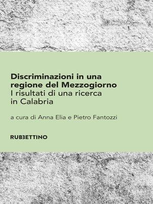 cover image of Discriminazioni in una regione del Mezzogiorno