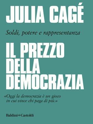 cover image of Il prezzo della democrazia