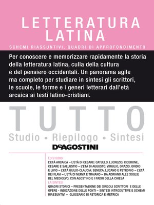 cover image of TUTTO- Letteratura latina