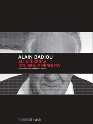 cover image of Alla ricerca del reale perduto