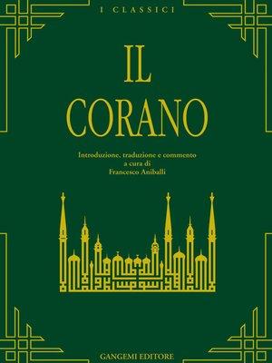 cover image of Il Corano