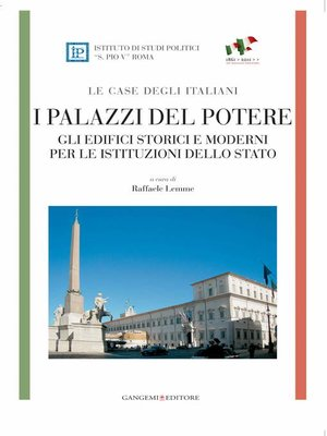 cover image of I palazzi del potere--LE CASE DEGLI ITALIANI