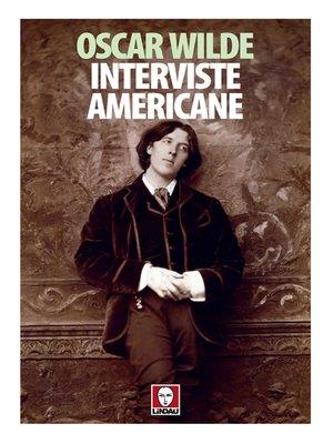 cover image of Interviste americane