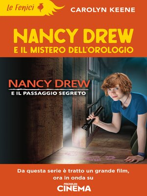 cover image of Nancy Drew e il mistero dell'orologio