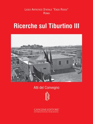 cover image of Ricerche sul Tiburtino III