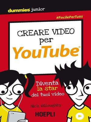 cover image of Creare video per YouTube
