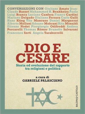cover image of Dio e Cesare