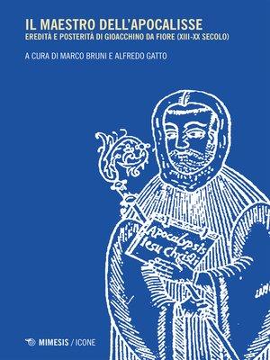 cover image of Il maestro dell'apocalisse