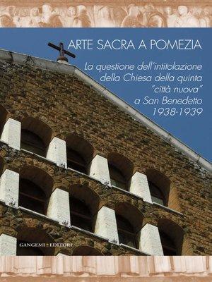 cover image of Arte sacra a Pomezia