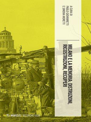 cover image of Milano e la memoria
