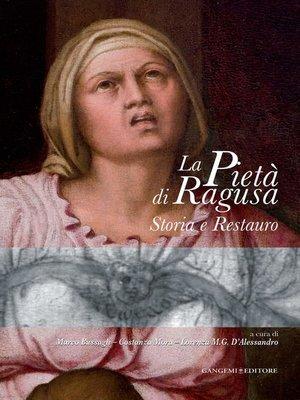 cover image of La Pietà di Ragusa
