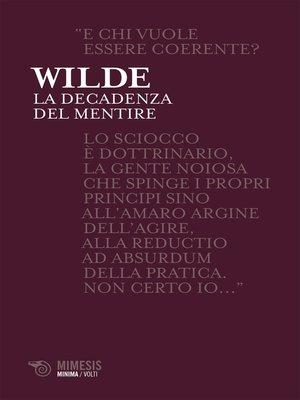 cover image of La decadenza del mentire